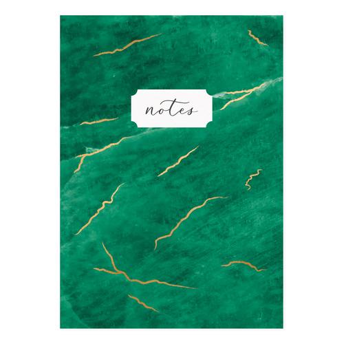 Paper MVxPapier Notebook - Green Emerald - Monica Vinader