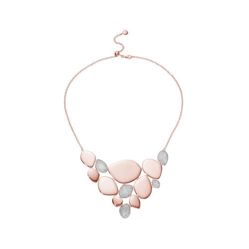 Rose Gold Vermeil Nura Cocktail Diamond Necklace - Diamond - Monica Vinader
