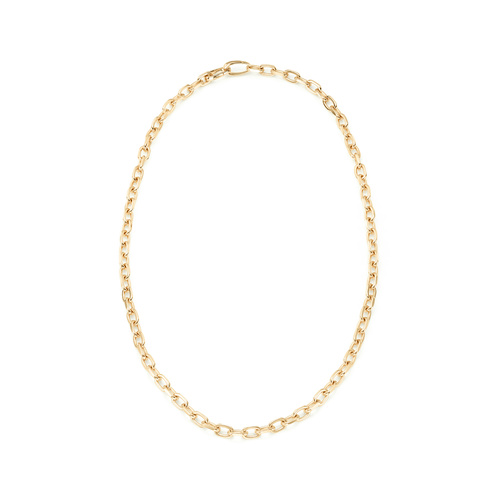 Gold Vermeil Alta Capture Mini Link Necklace - Monica Vinader