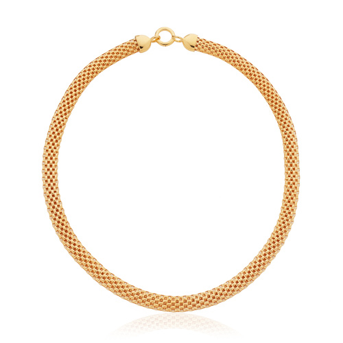 Gold Vermeil Doina Wide Chain Necklace - Monica Vinader