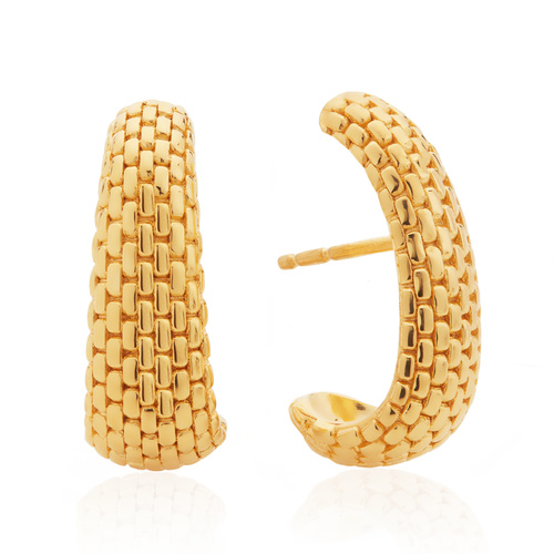 Gold Vermeil Doina Earrings - Monica Vinader