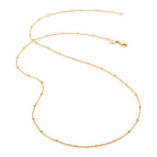 Gold Vermeil Fine Beaded 21