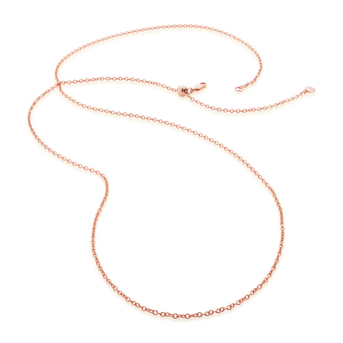 Rose Gold Vermeil Rolo Chain 32