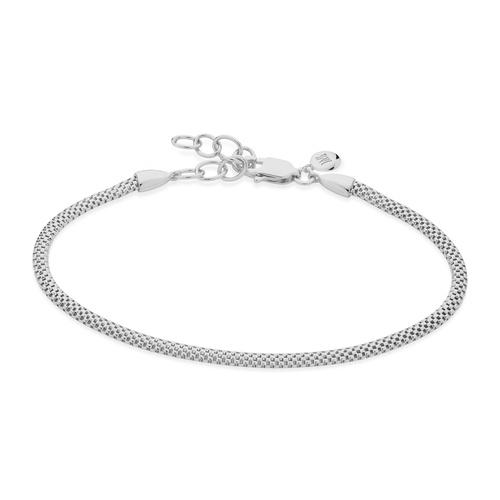 Sterling Silver Doina Fine Chain Bracelet - Monica Vinader