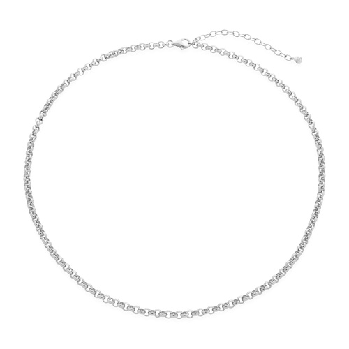 Sterling Silver Vintage Choker Necklace 15-17