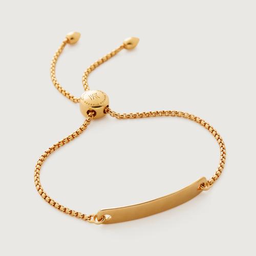 Gold Vermeil Havana Mini Friendship Chain Bracelet - Monica Vinader