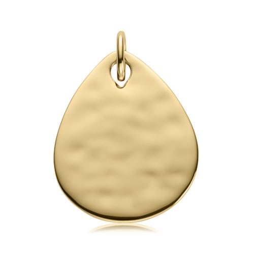 Gold Vermeil Ziggy Petal Pendant - Monica Vinader