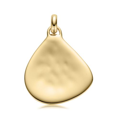 Gold Vermeil Siren Large Pendant Charm - Monica Vinader