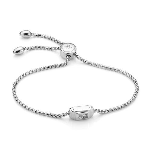 Baja Deco Diamond Bracelet - Diamond - Monica Vinader