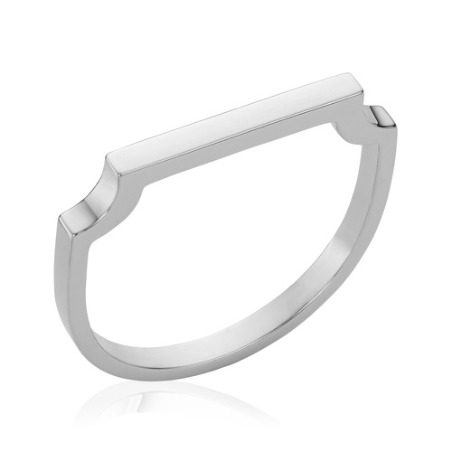 Signature Thin Ring - Monica Vinader