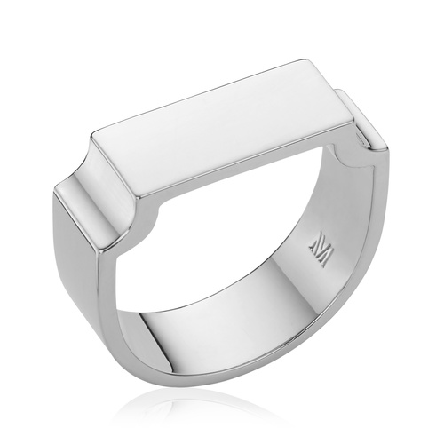 Signature Wide Ring - Monica Vinader