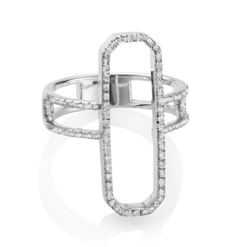 Naida Cocktail Ring - Diamonds