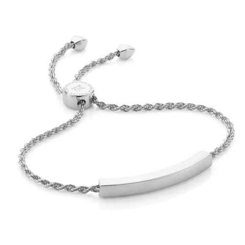 Linear Chain Bracelet Sterling Silver