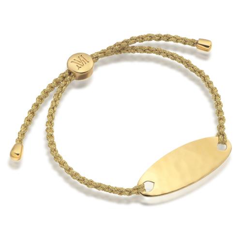 Gold Vermeil Bali Friendship Bracelet - Gold Metallica - Gold Metallica - Monica Vinader