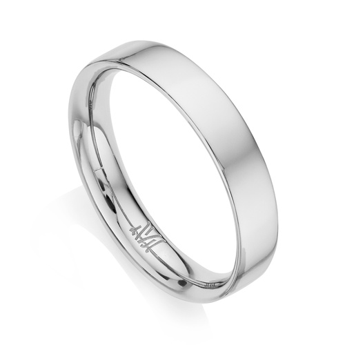 Sterling Silver Fiji Band Stacking Ring - Monica Vinader