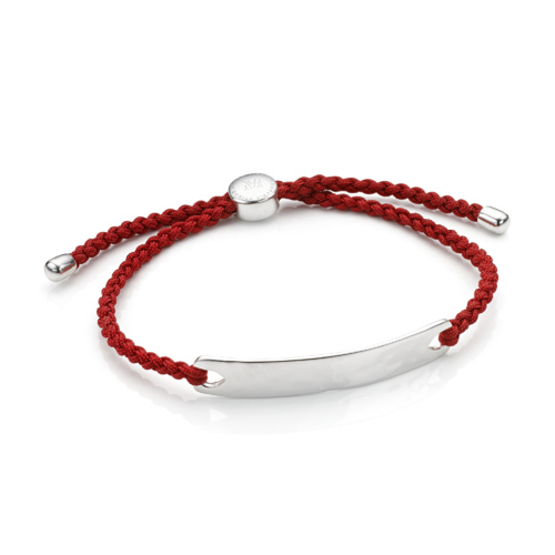 Havana Men's Friendship Bracelet - Crimson Red