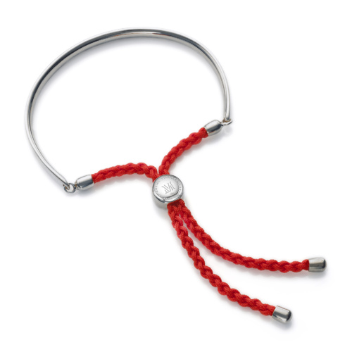 Fiji Friendship Bracelet - Coral