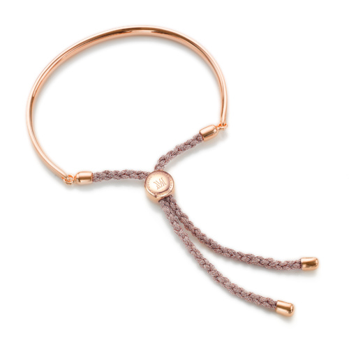 Rose Gold Vermeil Fiji Friendship Petite Bracelet - Rose Metallica