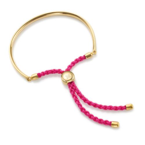 Gold Vermeil Fiji Friendship Petite Bracelet - Cerise