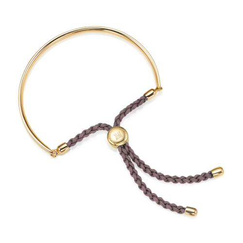 Gold Vermeil Fiji Friendship Bracelet - Mink