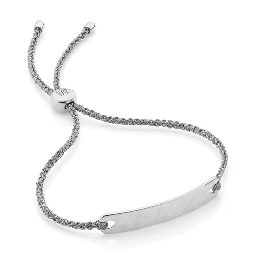 Havana Mini Friendship Bracelet - Silver Metallica - Monica Vinader