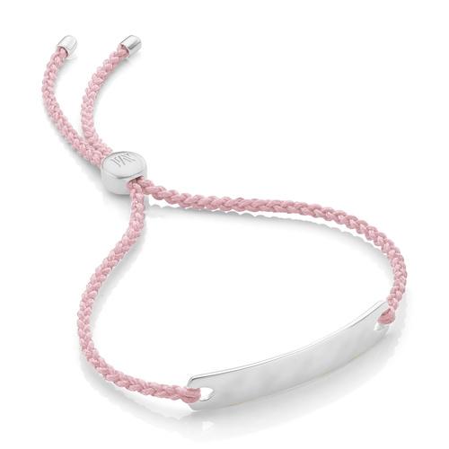 Havana Mini Friendship Bracelet - Ballet Pink - Monica Vinader