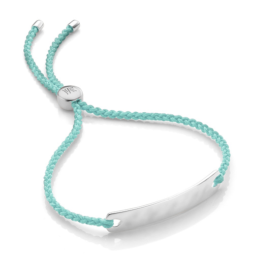 Havana Mini Friendship Bracelet - Mint - Monica Vinader