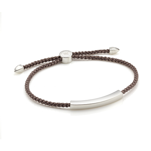 Linear Men's Friendship Bracelet - Mink - Monica Vinader