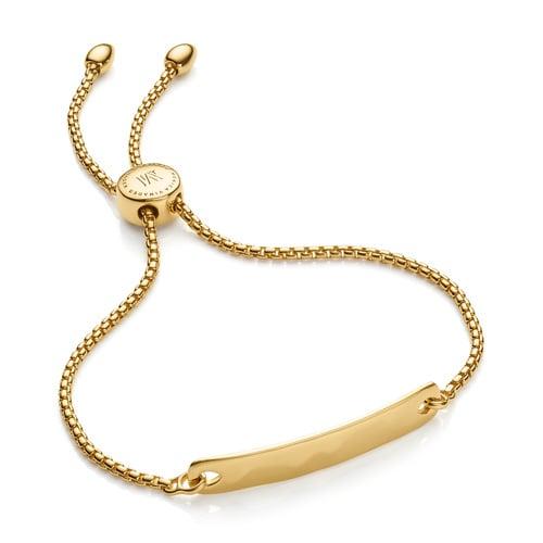 0307cd68c112 Gold Vermeil Havana Mini Friendship Chain Bracelet - Monica Vinader ...
