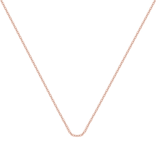 Rose Gold Vermeil Fine Chain 24