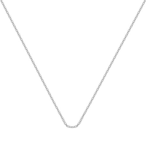 Sterling Silver Fine Chain 17