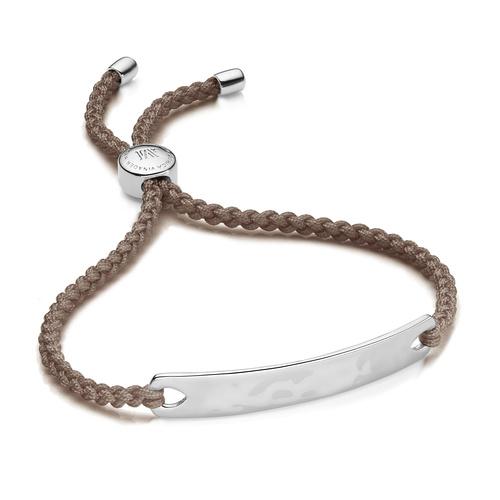 Havana Friendship Bracelet - Mink - Monica Vinader