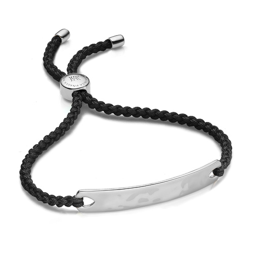 Havana Friendship Bracelet - Black - Monica Vinader