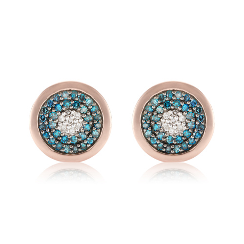 RP Evil Eye Stud Earrings