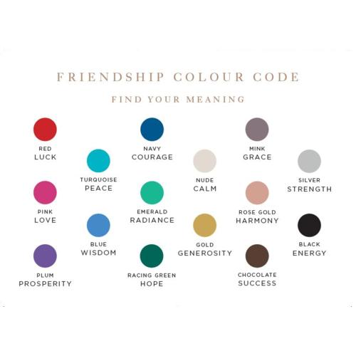 POD Card - XL Friendship Colour Code - Monica Vinader