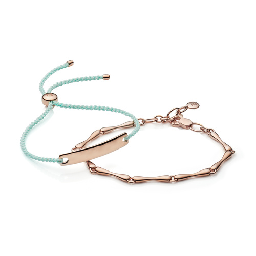 Havana and Nura Reef Bracelet Set - Monica Vinader