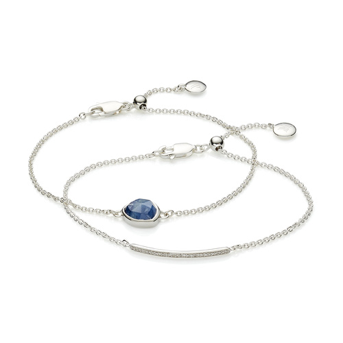 Siren and Skinny Diamond Bracelet Set - Monica Vinader
