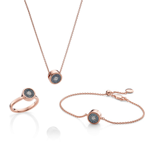 Evil Eye Ring, Necklace and Bracelet Diamond Set - Monica Vinader
