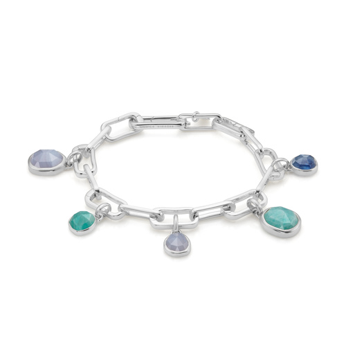 Alta Capture Charm Bracelet Set - The Gemstone Hunter - Monica Vinader