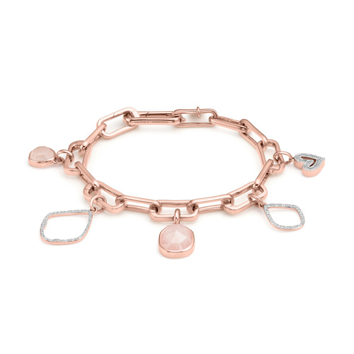 Alta Capture Charm Bracelet Set - The Romantic - Monica Vinader