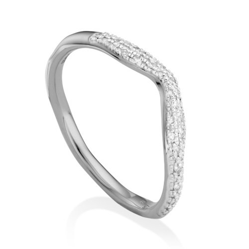 Riva Wave Stacking ring