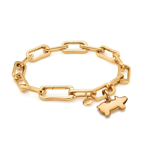 Alta Capture Charm Bracelet and Chinese Zodiac Pendant Charm Set - Monica Vinader