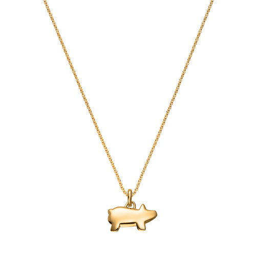 Chinese Zodiac Pendant Charm Necklace Set - Monica Vinader