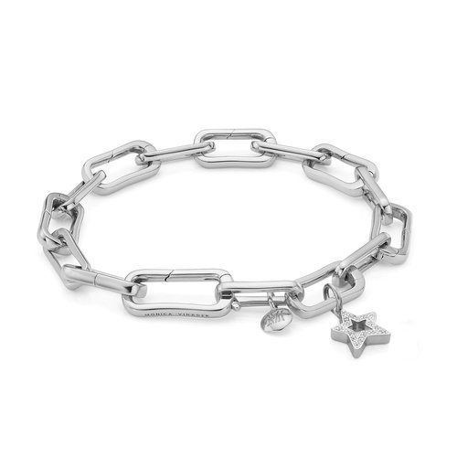Alta Capture Diamond Star Charm Bracelet - Monica Vinader