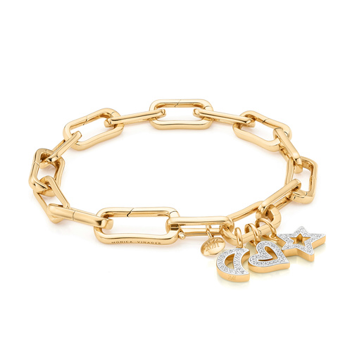Alta Capture Charm Bracelet Set - The Diamond Symbols - Monica Vinader