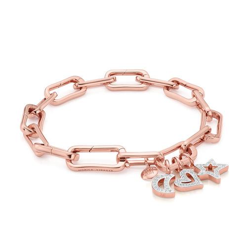 Alta Capture Charm Bracelet Set - The Diamond Symbols - Monica Vinader
