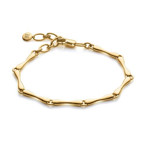 Gold Vermeil Nura Reef Bracelet - Monica Vinader