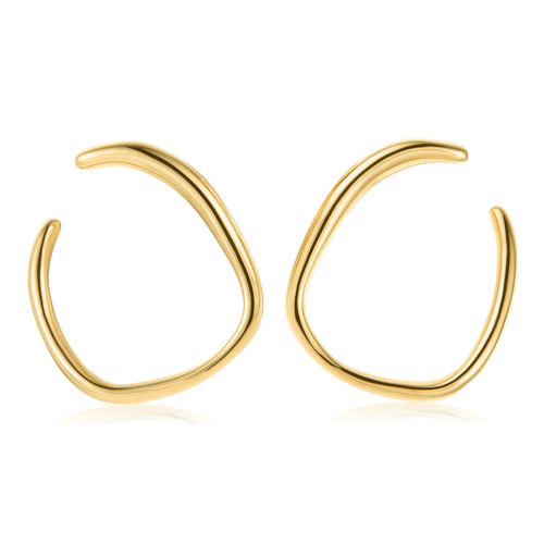 Gold Vermeil Nura Reef Wrap Earrings - Monica Vinader