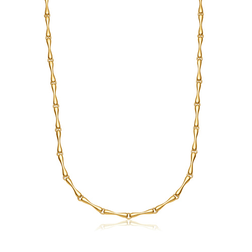 Gold Vermeil Nura Reef Necklace - Monica Vinader
