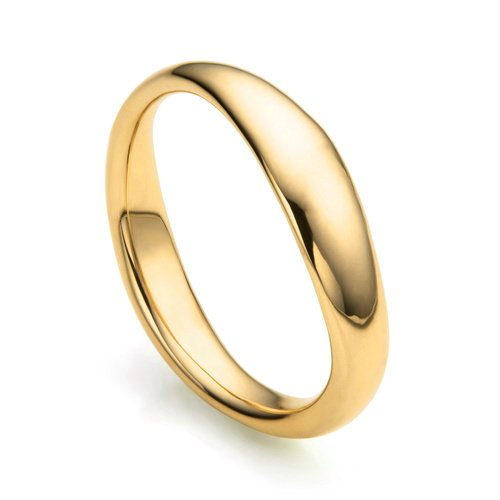 Gold Vermeil Nura Reef Stacking Ring - Monica Vinader